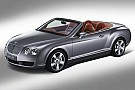 Bentley Continental GTC Production Commences