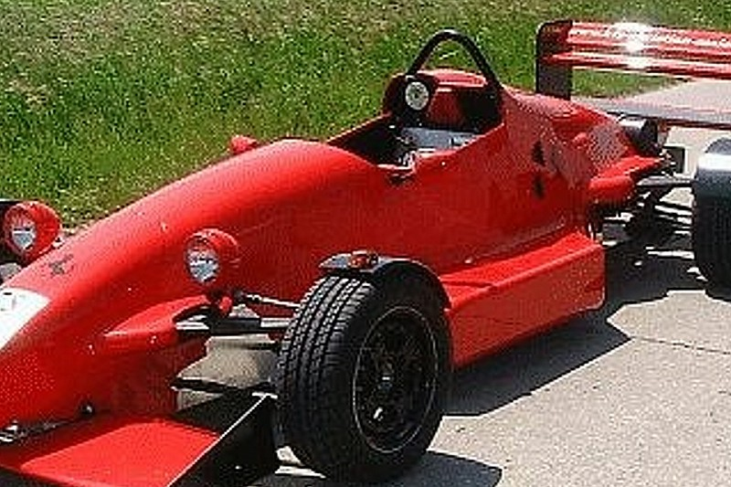 Street legal Formula Ford car in Germany