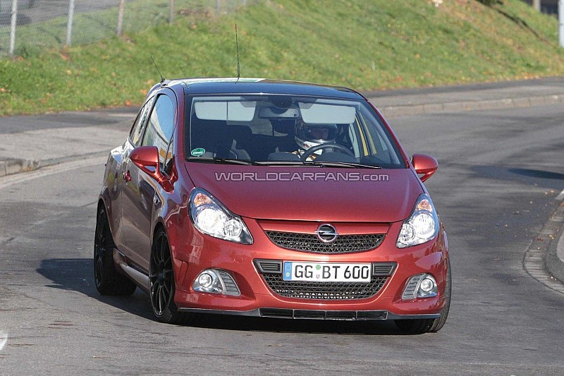opel corsa opc n rburgring edition latest spy shots wcf. Black Bedroom Furniture Sets. Home Design Ideas