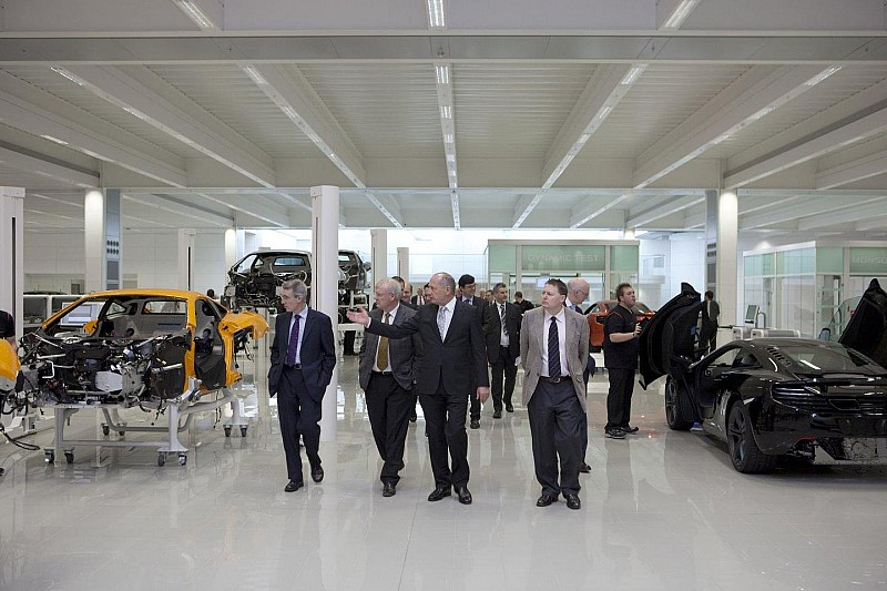 McLaren Production Centre grand opening [video]