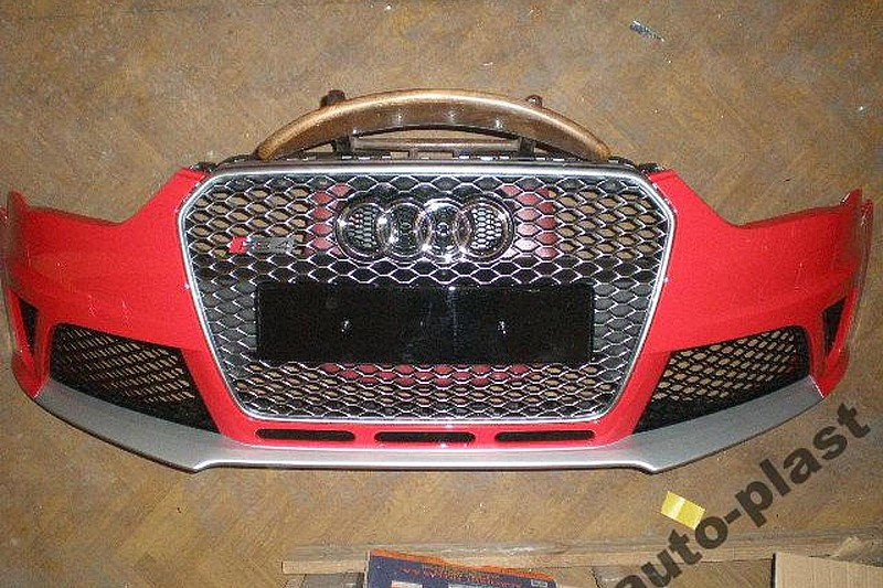 2014 Audi RS4 Avant front and rear bumpers leaked?