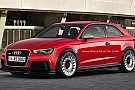 Audi RS3 Coupe rendered and speculated
