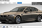 2013 BMW M5 configurator allows us to dream