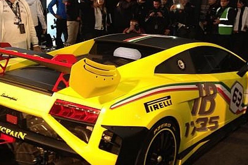 OFFICIAL: 2013 Lamborghini Gallardo LP 570-4 Super Trofeo breaks cover [video]