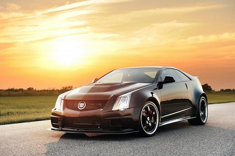 Hennessey Cadillac VR1200 tests Texas' highway cameras, hits 220.5 mph [video]