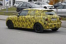 MINI Cooper five-door spied