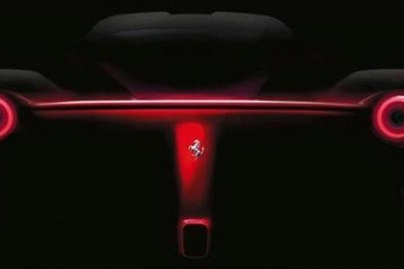 Ferrari F70 rear teased