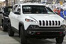 2014 Jeep Cherokee caught undisguised