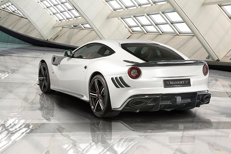 Ferrari F12 Berlinetta Stallone by Mansory to be unveiled in Geneva