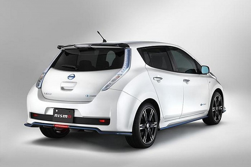 Nissan Leaf gets tuned by Nismo