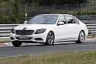 2014 Mercedes-Benz S-Class extra-long wheelbase returns in new spy pics