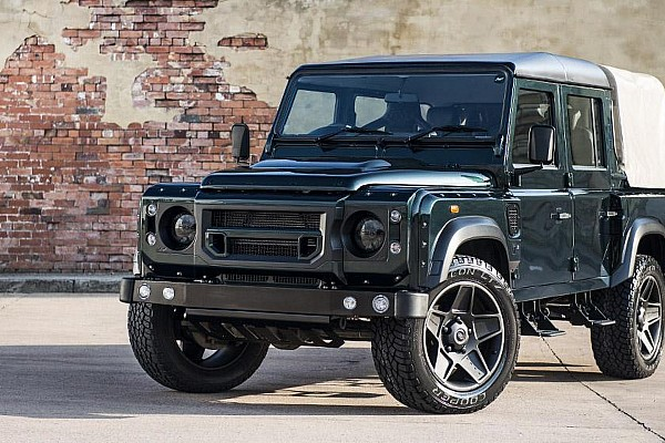Kahn Design shows off their modified Land Rover Defender Double Cab Pick Up