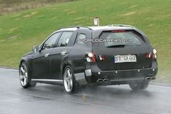 2010 Mercedes E63 AMG wagon spy photos