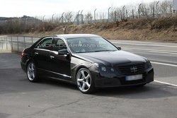 2010 Mercedes E63 AMG Sedan Prototype