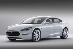 Tesla Model S Revealed to Media