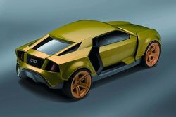 Audi Intelligent Emotion future mobility concept study by Fabian Weinert