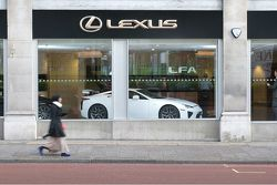 Lexus LFA at Park Lane, London