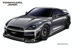 Nissan R35 GT-R by TommyKaira - dark metal gray