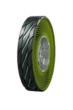 Bridgestone non-pneumatic airless tire concept 08.12.2011