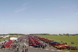 Largest Ferrari Parade at 2012 Ferrari Racing Days 18.9.2012