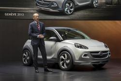 Opel Adam Rocks concept live in Geneva