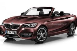BMW 2-Series Cabrio render 28.10.2013