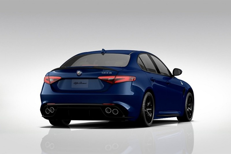 alfa romeo usa fires up giulia quadrifoglio mini online configurator. Black Bedroom Furniture Sets. Home Design Ideas
