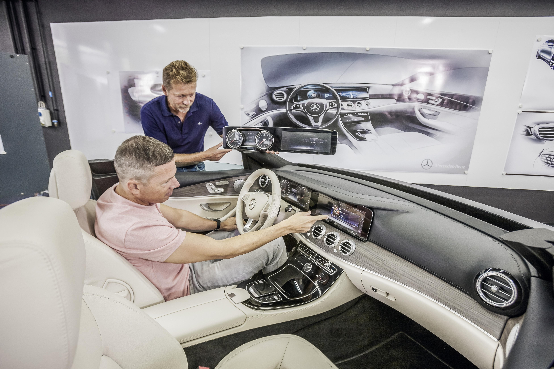 Interior Design of the future E Class