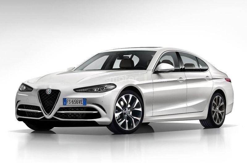 Alfa Romeo Ammiraglia rendering